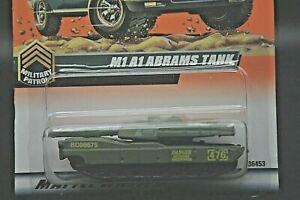 1998 Matchbox #84 M1 A1 Abrams Tank sealed