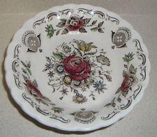 "Vintage Myotts Bouquet Staffordshire England berry bowl 4.75"" floral"