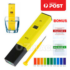 Digital PH Meter Tester Water Hydroponics Portable Pen Aquarium Pool Test Kit AU