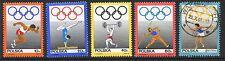 Poland Stamps Scott #1646-1649 MLH B114; Olympics 1969