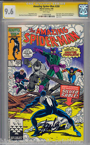 AMAZING SPIDER-MAN #280 CGC 9.6 WHITE STAN LEE SS CGC #1144910006