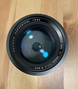 Fujinon Fujifilm 56mm/f1.2 lens