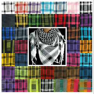 PLO Pali Tuch Schal Gesichtsschutz Arafat Kufiya Shemag Baumwolle TOP Qualität