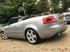 "06 AUDI A4 CABRIOLET 2.0 TDI S LINE - 2 F/OWNERS, LEATHER, CLIMATE, 18"" ALLOYS"