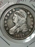 1835 CAPPED BUST HALF DOLLAR EARLY DATE MONSTER TONING HIGH GRADE