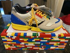 Adidas A-ZX 8000 LEGO Multi-Color FZ3482 Fashion shoes Size 11.5 BNIBWT