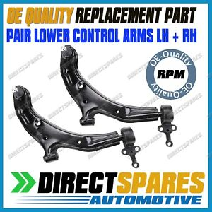 PAIR Nissan Pulsar N16 Q ST ST-L 2000-2006 Front Lower Control Arms LEFT & RIGHT