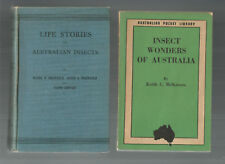 LIFE STORIES OF AUSTRALIAN INSECTS by Brewster + INSECT WONDERS OF AUST McKeown