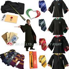Mantello Harry Potter Cosplay Halloween Carnevale Sciarpa Cravatta Bacchetta