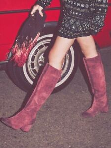 New Free People Newcastle Tall Boot Size 7 MSRP: $298 Suede