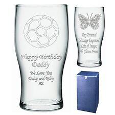 Personalizado Pint Glass Grandad Abuelo Papa bampa Cumpleaños Regalo-Presente-IMI