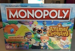 MONOPOLY ANIMAL CROSSING NEW HORIZONS EDITION BRAND NEW SEALED BOX IN STOCK