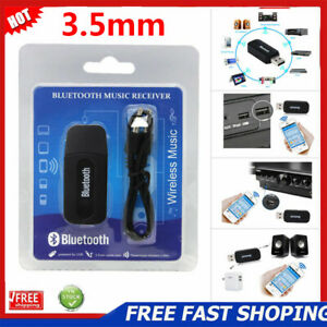 3.5mm Stereo Audio Music Speaker Receiver Adapter USB Bluetooth Wireless Dongle