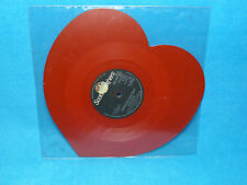 SURVIVOR AMERICAN HEARTBEAT (RED) SHAPED PIC DISC HEART SHAPED RED VINYL
