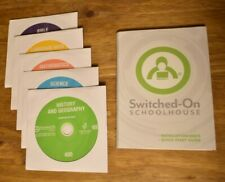 Switched on Schoolhouse 4th grade 5 subject COMPLETE Set