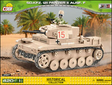 COBI Panzer II Ausf. F (2527) - 420 elem. - WWII German light tank