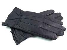 Gants et moufles noirs en cuir taille M pour femme