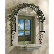 Toscano Design Ornamental Metal Garden Window Trellis