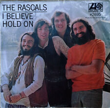 THE RASCALS - I BELIEVE b/w HOLD ON - ATLANTIC - PICTURE SLEEVE + 45