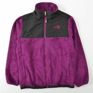 The North Face Oso Furry Fleece Jacket Purple Girls XL