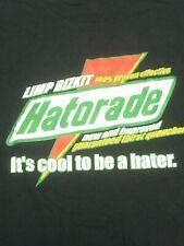 Limp Bizkit Hatorade Shirt Size L Gatorade Fred Durst Rap Hip Hop Music Haterade