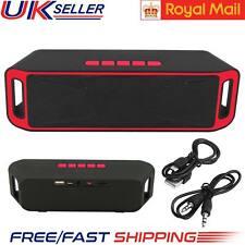 Very Loud Portable Wireless USB FM Radio Boombox Stereo Bluetooth Speaker