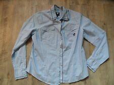 POLO SYLT schöne gestreifte Bluse blau weiß Gr. L w. NEU KoS817