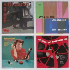 Unusual LP Covers Mixed Emotions Hate Men Music To Suffer By Who's The Alcoholic