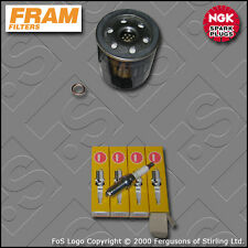 SERVICE KIT PEUGEOT 206 2.0 16V GTI RC 180 FRAM OIL FILTER PLUGS (2003-2007)