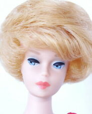 New listing Stunning Vintage Blonde Fashion Queen Wig Hair Style Bubble Cut Barbie Doll MINT