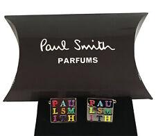 Paul Smith Square Rainbow cufflinks for men shirt Sale RRP £29.99