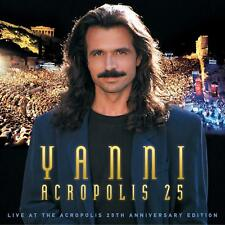 LIVE AT THE ACROPOLIS-REM.DELUXE ED.(CD/DVD/BR) - YANNI  2 CD+DVD NEW! YANNI