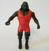WWE 2010 Mark Henry Action Figure Red Attire Wresting Collectible by Mattel