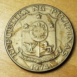 1974 Philippines 50 Sentimos, KM# 200