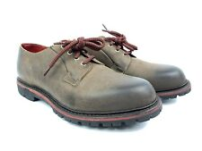 Allen Edmonds 2018 Darmstadt Brown Leather Shoes Vibram Gumlite Soles Men's 9D