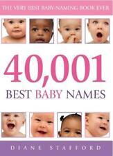 40, 001 Best Baby Names,Diane Stafford- 9780091900007