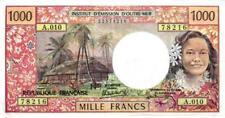 06 Tahiti Papeete P27d 1000 Francs 1969