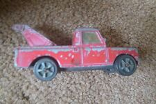 CORGI JUNIORS WHIZWHEELS RED LAND ROVER USED / FAIR CONDITION FOR AGE