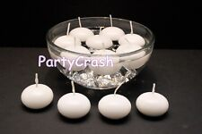 1.5 inch 10Round Flaoting Candle Disc Floater Candles White Wedding Home velas