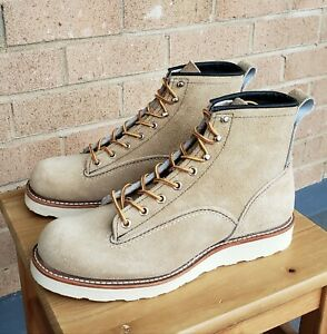 1st Quality Red Wing Heritage Lineman 2925 Boots Blacksmith Iron Ranger size 7D