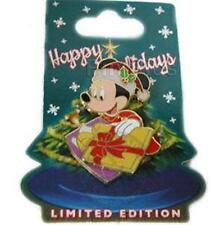 MINNIE MOUSE Santa Hat, Opening Gift CHARACTER CHRISTMAS LE 1000 Disney PIN 2006