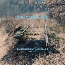 Don Caballero-gang Banged with a headache, and Live CD rock Independent NEUF