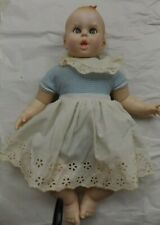 Gerber Baby 1979 Flirty Eyes 50th Anniversary Doll Blue