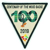 2019 Scouts Australia Centenary 100th Anniversary Wood Badge Patch