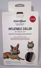 "Inflatable Collar Pet Dog Cat XXS 6"" and Smaller Teacup Toy Elizabethan Vet"