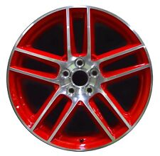 "19"" Ford Mustang BOSS 302 2012 2013 Factory OEM Rim Wheel 3887 FRONT Red"
