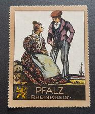 Cinderella Poster Stamp Germany Pfalz Rheikreis (7609)