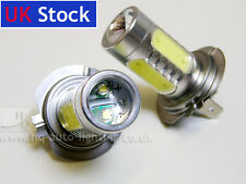 H7 477 Xenon WHITE 16W 8000K COOL BLUE HIGH POWER LED Car Spot Fog Bulbs A