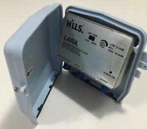 HILLS LARA Regional UHF AMPLIFIER and 14V DC PSU F Type Injector FC658233C