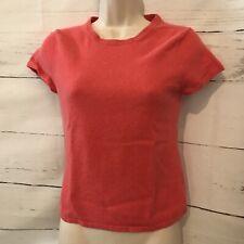 Premise Cashmere Women's Size Large Short Sleeve Sweater